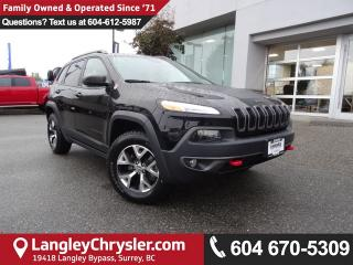 Used 2017 Jeep Cherokee Trailhawk *ACCIDENT FREE*ONE OWNER*LOCAL BC CAR* for sale in Surrey, BC