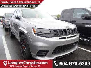 New 2018 Jeep Grand Cherokee SRT 4x4 for sale in Surrey, BC