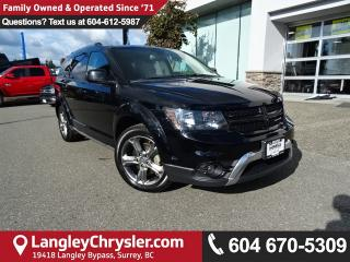 Used 2017 Dodge Journey Crossroad *ACCIDENT FREE*ONE OWNER*LOCAL BC CAR* for sale in Surrey, BC