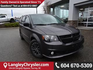 New 2017 Dodge Grand Caravan CVP/SXT Blacktop Pkg,  DVD Entertainment for sale in Surrey, BC