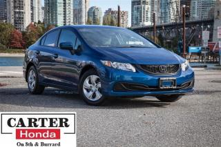 Used 2015 Honda Civic LX + NEW TIRES + LOCAL + NO ACCIDENTS + CERTIFIED! for sale in Vancouver, BC
