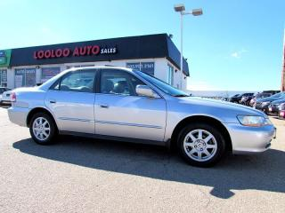 Used 2002 Honda Accord SE Automatic Sunroof for sale in Milton, ON