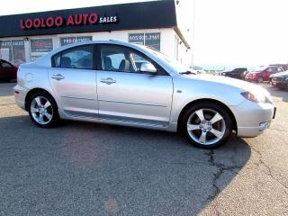 Used 2005 Mazda MAZDA3 GT 2.3L Automatic Sunroof for sale in Milton, ON