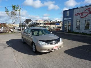 Used 2005 Toyota Camry LE,MINT SHAPE for sale in Kitchener, ON