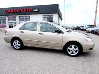 Used 2007 Toyota Corolla CE AUTOMATIC AC No Accidents for sale in Milton, ON