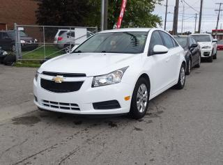 Used 2014 Chevrolet Cruze 1LT.Off Lease.One Owner.Carproof Clean. for sale in Brampton, ON