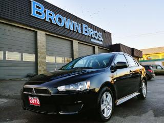 Used 2010 Mitsubishi Lancer DE, local, low km, financing for sale in Surrey, BC