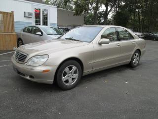 Used 2002 Mercedes-Benz S-Class S430 for sale in Scarborough, ON