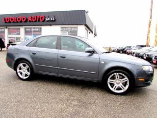 Used 2006 Audi A4 3.2L AWD LEATHER SUNROOF CERTIFIED 2YR WARRANTY for sale in Milton, ON
