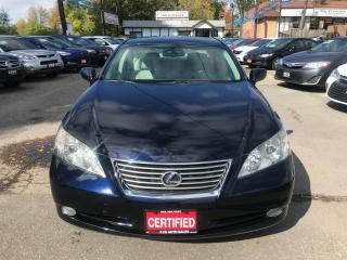 Used 2009 Lexus ES 350 NO ACCIDENTS LEATHER SUNROOF PUSH START for sale in Brampton, ON