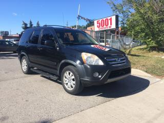 Used 2006 Honda CR-V AUTO,AWD,SAFETY+3YEARS WARRANTY INCLUDED for sale in North York, ON