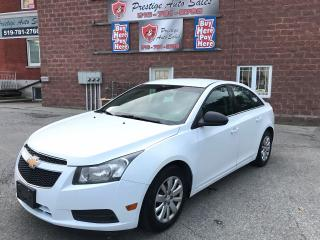 Used 2011 Chevrolet Cruze LS - ONE OWNER - ONE YEAR WARRANTY INCLUDED for sale in Cambridge, ON