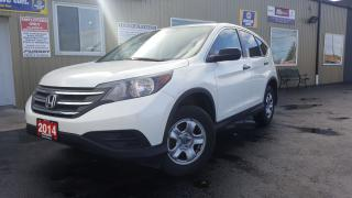 Used 2014 Honda CR-V LX-BACK UP CAMERA-HEATED SEATS-BLUETOOTH for sale in Tilbury, ON