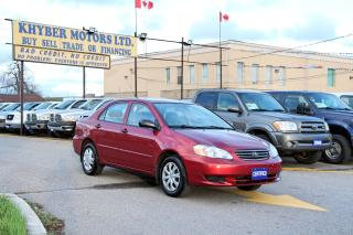 Used 2004 Toyota Corolla CE for sale in Brampton, ON