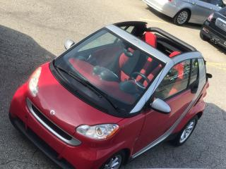 Used 2009 Smart fortwo CONVERTIBLE - ONE OWNER-SAFETY&WARRANTY INCL for sale in Cambridge, ON