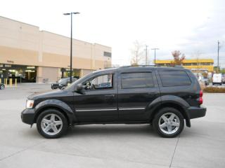 Used 2008 Dodge Durango Hami, 4x4, 8 Passanger, Low km, Certify, 3 years w for sale in North York, ON