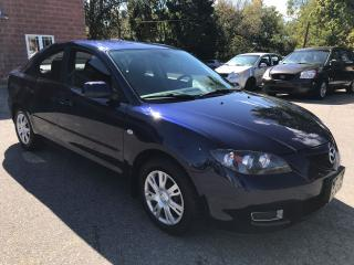 Used 2008 Mazda MAZDA3 NO ACCIDENT - SAFETY & WARRANTY INCLUDED for sale in Cambridge, ON