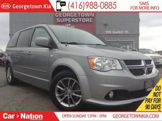 Used 2014 Dodge Grand Caravan SE/SXT | CLEAN CARPROOF | REAR A/C | STO-N-GO for sale in Georgetown, ON