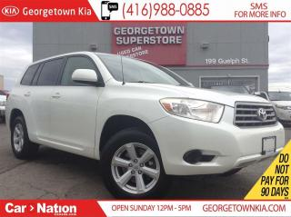 Used 2008 Toyota Highlander V6 | AWD | ALLOYS | LEGENDARY TOYOTA for sale in Georgetown, ON