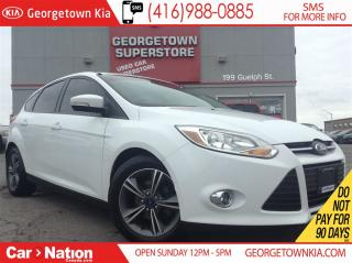 Used 2014 Ford Focus SE ALLOY WHEELS| HTD SEATS| FOG LIGHTS| BLUETOOTH for sale in Georgetown, ON