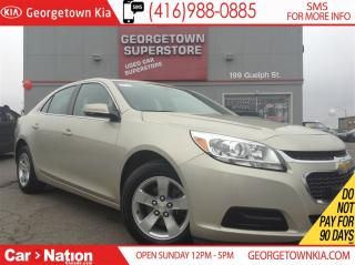 Used 2016 Chevrolet Malibu LT | TOUCH SCREEN | BLUETOOTH | ALLOYS for sale in Georgetown, ON