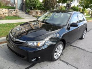 Used 2010 Subaru Impreza 5 SPPED, LOW KMS, NO ACCIDENTS, CERTIFIED for sale in Etobicoke, ON