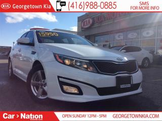 Used 2015 Kia Optima LX ALLOY WHEELS| HEATED SEATS| FOGS| BLUETOOTH for sale in Georgetown, ON
