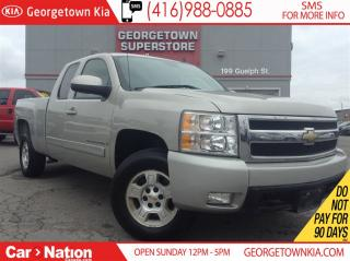 Used 2008 Chevrolet Silverado 1500 LTZ LEATHER| 4X4| HTD SEATS| ALLOY WHEELS for sale in Georgetown, ON