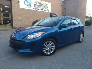 Used 2013 Mazda MAZDA3 GS-SKY - SUNROOF - HEATED SEATS - BLUETOOTH - 75K for sale in Aurora, ON