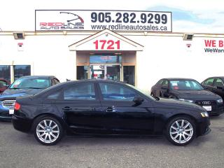 Used 2010 Audi A4 Premium, Leather, Sunroof, WE APPROVE ALL CREDIT for sale in Mississauga, ON