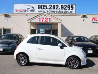 Used 2012 Fiat 500 Sport, Leather, WE APPROVE ALL CREDIT for sale in Mississauga, ON