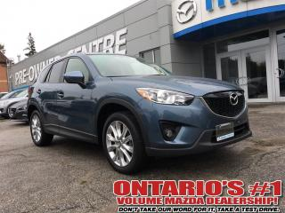 Used 2015 Mazda CX-5 GT AWD,LEATHER, SUNROOF,REVERSE CAM-TORONTO for sale in North York, ON