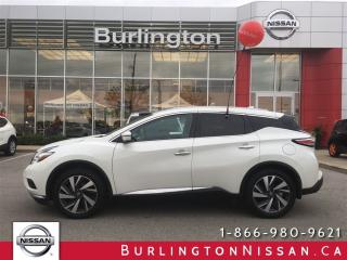 Used 2017 Nissan Murano Platinum for sale in Burlington, ON