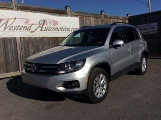 Used 2017 Volkswagen Tiguan Wolfsburg Edition for sale in Stittsville, ON
