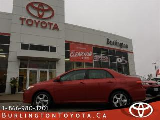 Used 2012 Toyota Corolla LE UPGRADE PACKAGE for sale in Burlington, ON