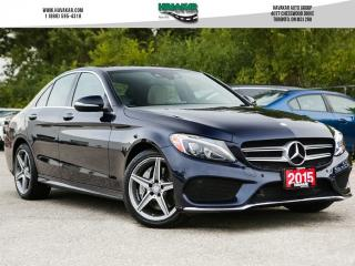Used 2015 Mercedes-Benz C-Class C300 4MATIC for sale in North York, ON