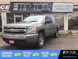 Used 2008 Chevrolet Silverado 1500 LS ** 4x4, 4.8 V8, Well Equipped ** for sale in Bowmanville, ON