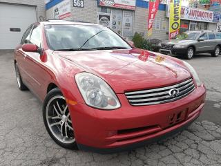 Used 2003 Infiniti G35 Luxury for sale in Oakville, ON