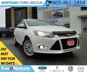 Used 2013 Ford Focus Titanium | NAV | REAR CAM | HEATED SEATS | for sale in Brantford, ON