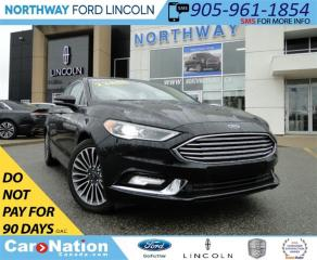 Used 2017 Ford Fusion Titanium | NAV | SUN ROOF | HEATED LEATHER | for sale in Brantford, ON