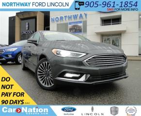 Used 2017 Ford Fusion SE | NAV | HEATED LEATHER | REAR CAM | SUNROOF | for sale in Brantford, ON