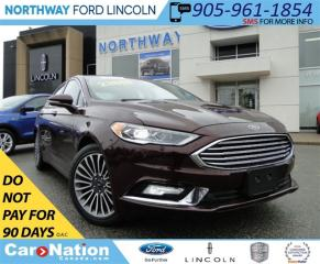 Used 2017 Ford Fusion SE | NAV | HEATED LEATHER | REAR CAM | for sale in Brantford, ON
