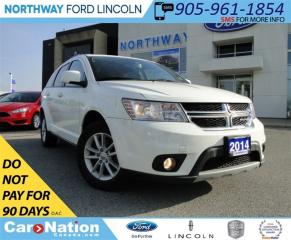 Used 2014 Dodge Journey SXT | TOUCH SCREEN | 3RD ROW SEATING | U CONNECT | for sale in Brantford, ON