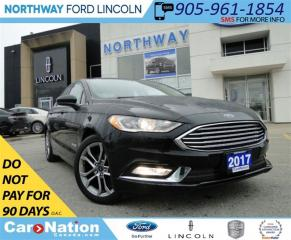 Used 2017 Ford Fusion SE | HYBRID | NAV | LEATHER | REAR CAMERA | for sale in Brantford, ON