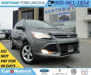 Used 2014 Ford Escape SE | REAR CAMERA | BLUETOOTH | for sale in Brantford, ON