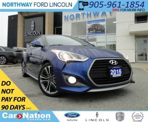 Used 2016 Hyundai Veloster Rally Edition | NAV | HEATED LEATHER | TURBO | for sale in Brantford, ON