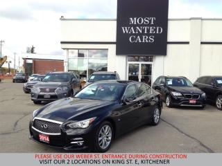 Used 2014 Infiniti Q50 Premium AWD | NAVIGATION | CAMERA for sale in Kitchener, ON