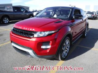 Used 2012 Land Rover RANGE ROVER EVOQUE DYNAMIC 2D UTILITY 2.0L for sale in Calgary, AB