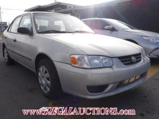Used 2002 Toyota Corolla CE 4D Sedan for sale in Calgary, AB