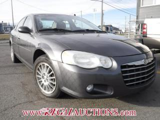 Used 2005 Chrysler SEBRING TOURING 4D SEDAN for sale in Calgary, AB